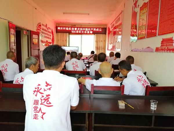 镇远县羊坪镇组织收看庆祝建党100周年大会.jpg
